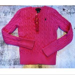 🦄 3/$25 Ralph Lauren Girls Sweater